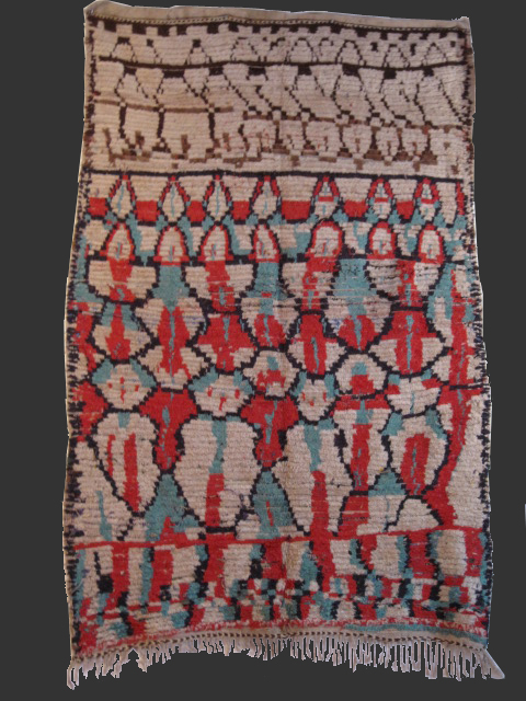Tapis Berbere Ancien 37 Toulouse D Sign