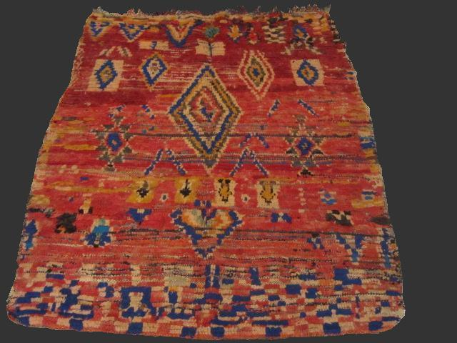 Tapis berb re azilal - Kilim ancien ...